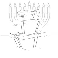 Hanukkah Presents Dot-to-Dot Puzzle