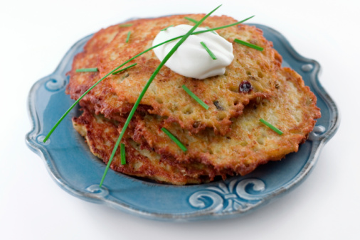 Why do you eat Latkes on Hanukkah?
