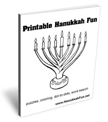 Printable Hanukkah Fun